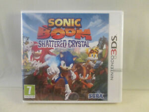 Nintendo 3DS - Sonic Boom Shattered Crystal NEW SEALED
