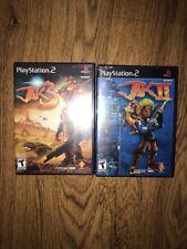 Jak 2+3 Playstation PS2 Black Label Original Release Game Complete In Case