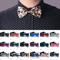 Men Bowtie Bow Tie Suit Necktie Adjustable Formal Tuxedo Wedding Party Ties NEW