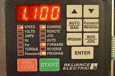RELIANCE ELECTRIC GV3000 (RMI)  2SI3000 ~ 814.56.00G ~ SUPER REMOTE METER BOARD