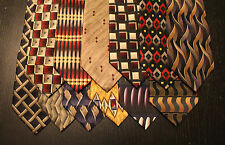 Lot of 12 NEW Croft & Barrow Designer Neck Ties with Patterns L047