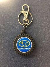 Subaru Logo TIRE KeyTag Keyring Key Chain Outback Foreseter Wrx Sti Impreza