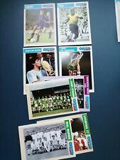 """Carte Football Onze Mondial """"joueurs et équipe d'exception"""""""