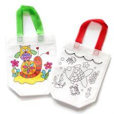 Children's DIY Environmental Friendly Graffiti Bag Kindergarten Hand Painting