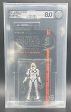 "Star Wars Black Series Orange 3.75 ""Clone Pilot"" #08 AFA 8.0 (Archival)"