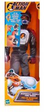 Action Man Snowball Mobile Fire Rider Figure Hasbro Year of make 2001 Rare Co...