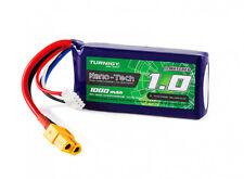 Turnigy Nano-Tech 1000mAh 3S 11.1V 40C 80C LiPo Battery Pk XT60 FPV Multirotors