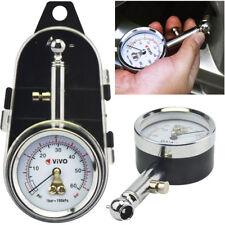 Professional Tyre Pressure Gauge Air Measurement PSI/BAR Release Button Car Bike