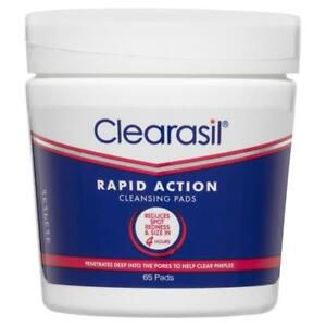 Clearasil Rapid Action Cleansing Pads 65 Pads