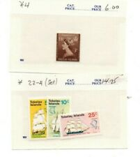 TOKELAU ISLANDS STAMPS MINT NEVER HINGED