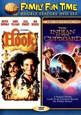 2 FILM DOUBLE FEATURE Indian In The Cupboard & Hook ROBIN WILLIAMS 2010 PG W/S