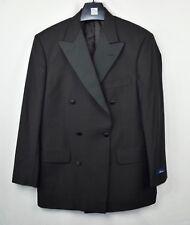 NWT BROOKS BROTHERS Madison Black Satin Wool Jacket Double Breased TUXEDO - 38 R