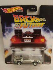Hot Wheels DE LOREAN Back to the future TIME MACHINE retour vers futur Delorean