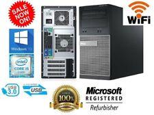 Fast Gaming Computer PC Windows 10 8GB RAM 500GB HDD Nvidia GTX 750 HDMI WiFi