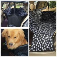 Car Pet Seat Cover Dog Cat Portable Rear Back Mat Protector Cushion Waterproof