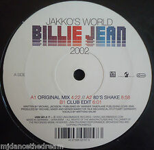 "Jakko's World ~ Billie Jean 2002 ~ 12"" de un"