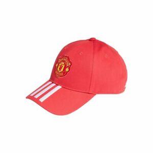 Adidas Manchester United Baseball Cap - Red/Wht