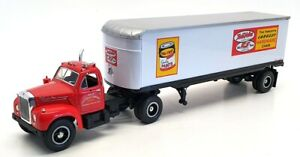 First Gear 1/34 Scale 10-1486 - 1960 B61 Mack Tractor & Trailer With Cotter & Co