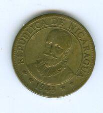 NICARAGUA 1943 FIVE CENTAVOS--CIRCULATED
