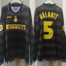 Maglia/shirt/camiseta Inter Milan Branca Uefa 98 Umbro
