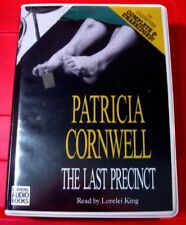 Patricia Cornwell The Last Precinct Scarpetta 14-Tape UNABR.Audio Lorelei King
