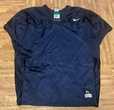 Nwt Mens Nike Navy Blue Football Jersey Xl $45