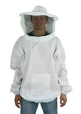Professional Bee Keeping Suit, Beekeeping Pull Over Jacket Smock with Veil Large