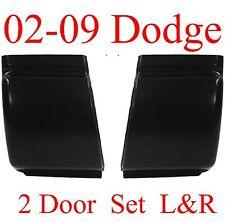 02 09 Dodge Regular Cab Corner Set, Ram Truck, 2 Door, L&R, NIB, 1.2MM Thick!!