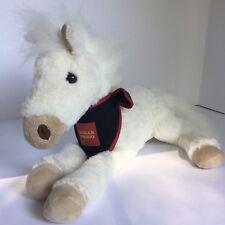 Wells Fargo White Horse Stuffed Animal Legendary MOLLIE Plush Promo Toy Molly 15