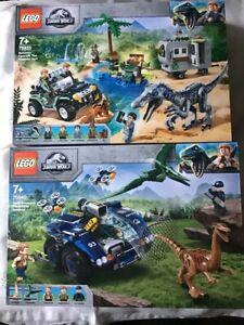 Lego - 75935 and 75940 Jurassic World set - BUNDLE