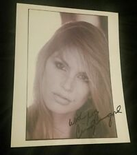 Cindy Crawford Signed Autographed 8x10 Authentic