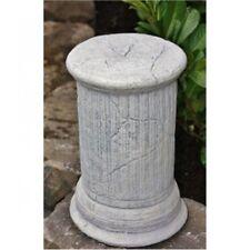 Colonne Ancien Sculpture Nouvelle Pierre de Fonte Résistant au Gel en Embase