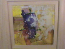 Orginal Watercolour by Susan Brown Late Summer Yorkshire Artist Cost £1500 NEW