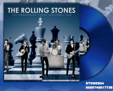 "THE ROLLING STONES UNRELEASED CHESS SESSIONS BLUE 10"" 1964 VINYL LP NEW MINT"