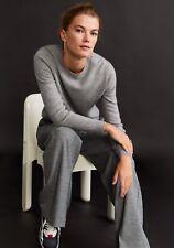 Woman pure cashmere Sweater , jumper size L UK 12 new,mango RRP 100£,,.