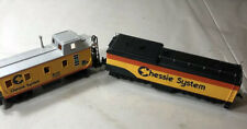 Bachmann Chessie System B&O C3963 Caboose & One More Other- Ho Scale