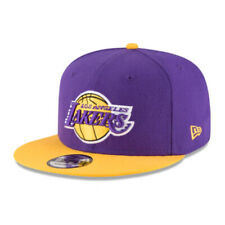 Los Angeles Lakers LAL NBA Authentic New Era 9FIFTY Snapback Cap-950 2 Tone Hat