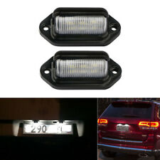 2pcs LED License Plate Tag Light Interior Step Lamp Boat RV Truck Motorcycle