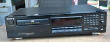 CD Player Sony CDP 411, schwarz, guter Zustand * 'Made in France