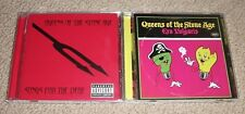LOT OF (2) - QUEENS OF THE STONE AGE CD'S - Songs for the Deaf & Era Vulgaris CD