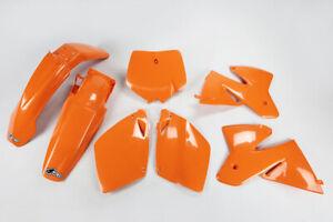 kit plastiche Ktm 1999 2000 EXC SX SXF 125 200 250 300 400 520 completo arancio