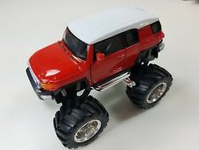 "Welly 4.75"" Monster Truck Big Foot Toyota FJ Cruiser Diecast Car 47003-8D Red"