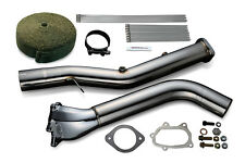 Tomei Expreme Single Scroll Straight Downpipe ver 2 - fits Subaru EJ20 / EJ25