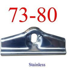 Stainless 73 80 Chevy Battery Hold Down Bracket, GMC Truck, A Body, GMK414330167