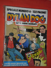 DYLAN DOG-SPECIALE- N°6- anime dannate- 1°EDIZIONE BONELLI-  SENZA LIBRICINO