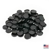Pack of 100, 25 mm Plastic Round Bases Miniature Wargames Table Top gaming