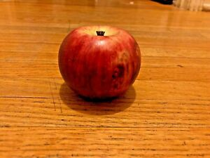 Marble Apple Fruit  2.5 x 3.5 inches