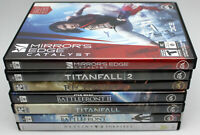 Lot of 8 PC First Person Shooters Overwatch,Star Wars Battlefront,Mirror's Edge