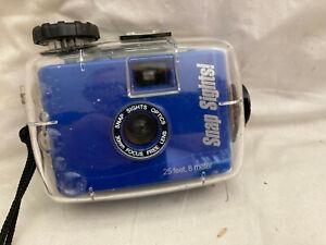 Snap Sights Optics Underwater 35mm Film Camera  Focus Free Lens 25 feet WR