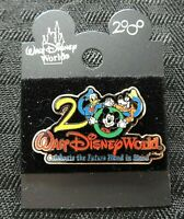 """Walt Disney World 2000 LE MICKEY MOUSE """"CELEBRATE THE FUTURE HAND IN HAND"""" PIN"""
